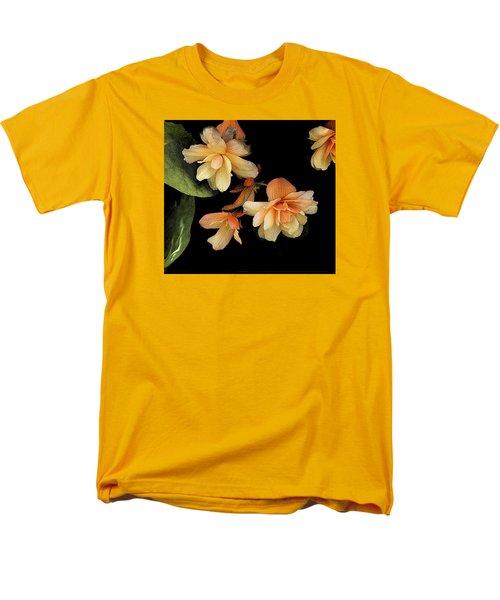 Begonias 2 Men's T-Shirt  (Regular Fit) by Janis Nussbaum Senungetuk