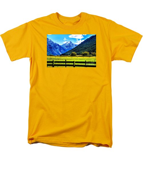 Beyond The Fence Men's T-Shirt  (Regular Fit) by Rick Bragan