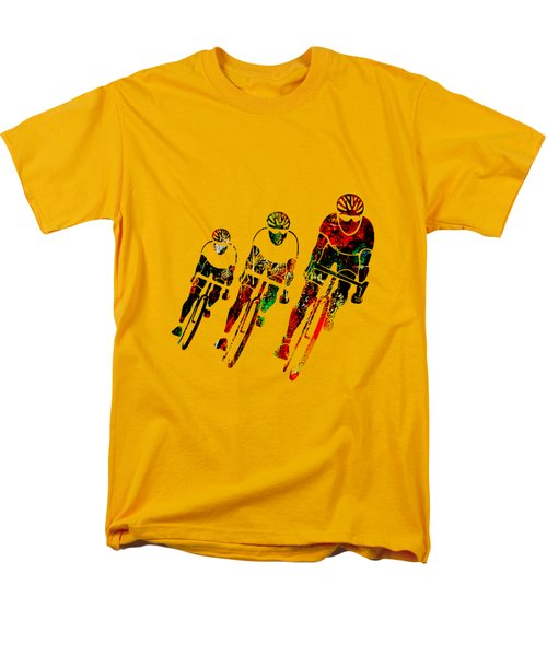 Bike Race Men's T-Shirt  (Regular Fit) by Marvin Blaine