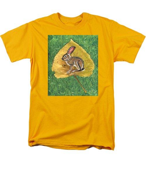 Black Tail Jack Rabbit  Men's T-Shirt  (Regular Fit) by Ralph Root