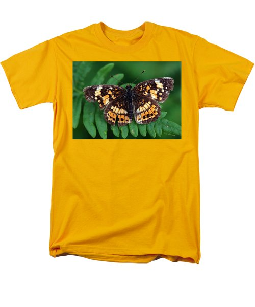Blue Ridge Butterfly Men's T-Shirt  (Regular Fit) by Kay Lovingood