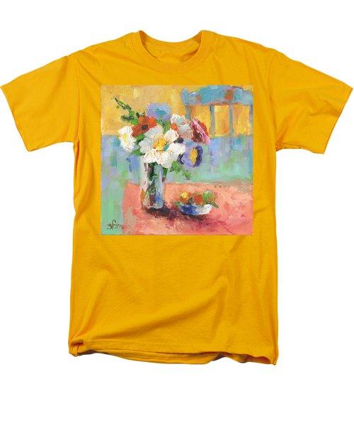 Blues Chair Men's T-Shirt  (Regular Fit) by Sharon Furner