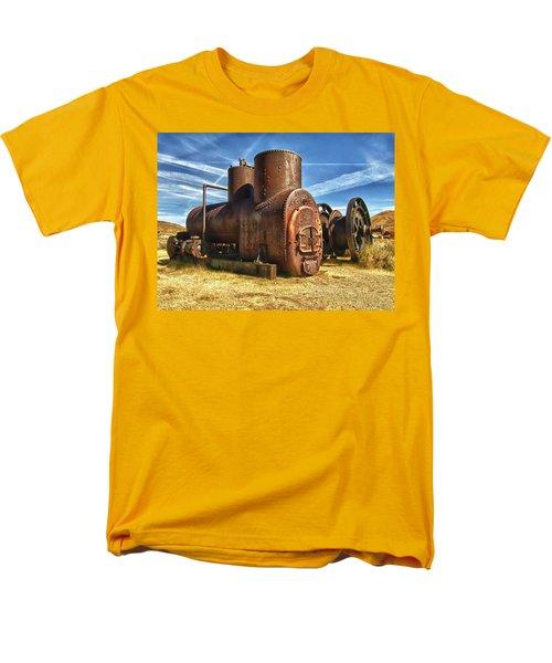 Old Boiler Bodie State Park Men's T-Shirt  (Regular Fit) by James Hammond