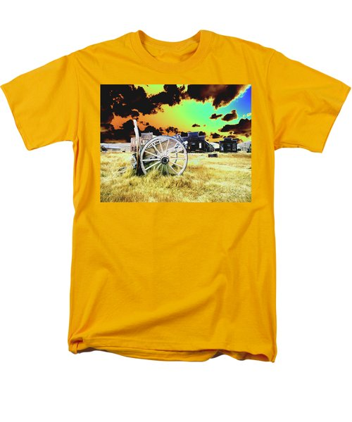Men's T-Shirt  (Regular Fit) featuring the photograph Bodie Wagon by Jim and Emily Bush