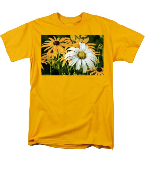Men's T-Shirt  (Regular Fit) featuring the photograph Bride And Bridesmaids by Bill Pevlor