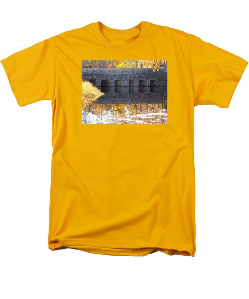 Bridges Reflection Men's T-Shirt  (Regular Fit) by Catherine Gagne