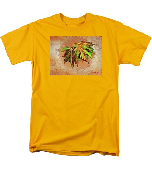 Brilliant Is The Color Of Autumn  Men's T-Shirt  (Regular Fit) by Talisa Hartley