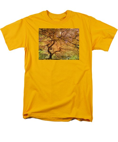 Brilliant Japanese Maple Men's T-Shirt  (Regular Fit) by Wanda Krack