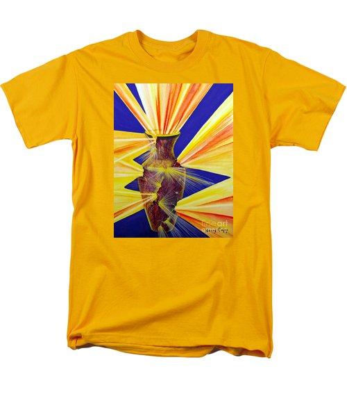 Broken Vessel Men's T-Shirt  (Regular Fit) by Nancy Cupp