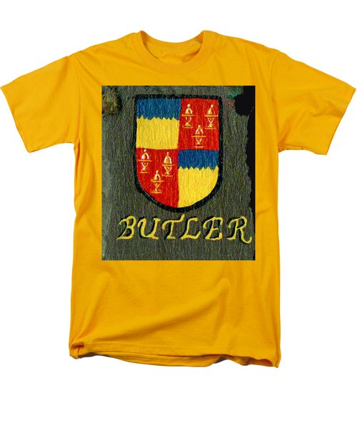 Men's T-Shirt  (Regular Fit) featuring the painting Butler Family Shield by Barbara McDevitt