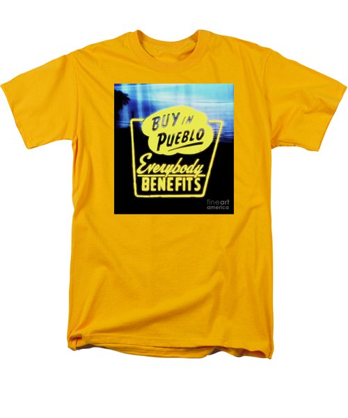 Buy In Pueblo Men's T-Shirt  (Regular Fit)