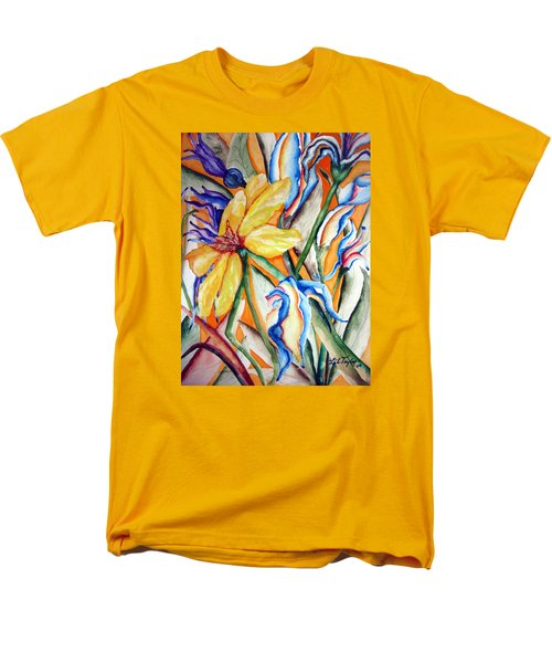 California Wildflowers Series I Men's T-Shirt  (Regular Fit) by Lil Taylor