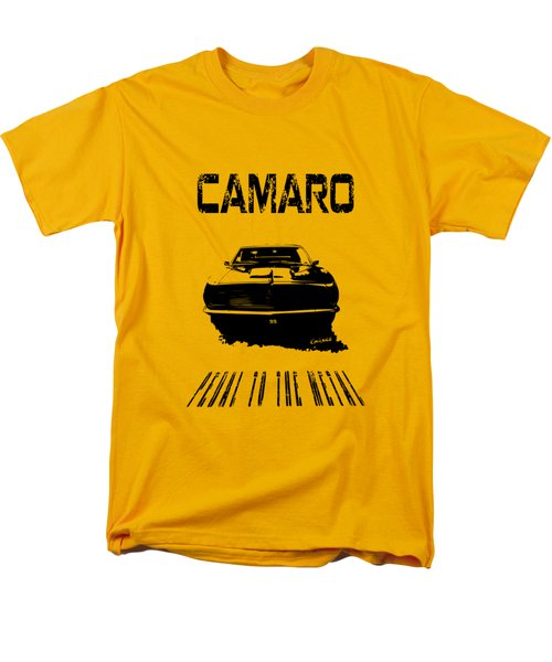 Men's T-Shirt  (Regular Fit) featuring the photograph Camaro Ss - Pedal To The Metal by Kim Gauge