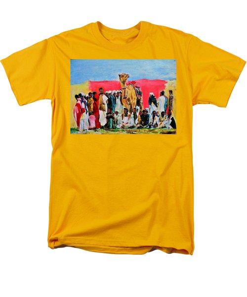 Camel Festival Men's T-Shirt  (Regular Fit) by Khalid Saeed