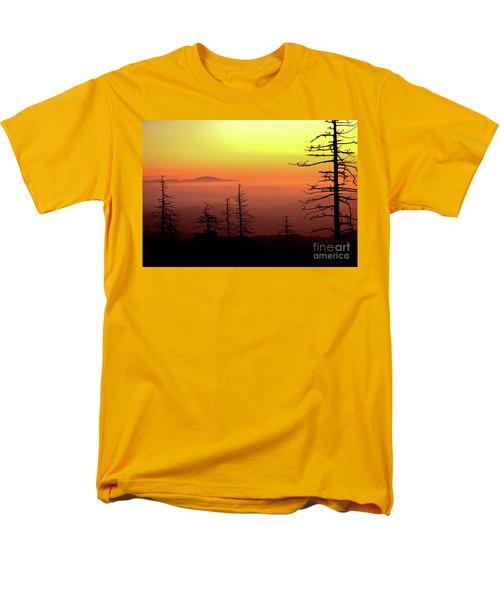 Men's T-Shirt  (Regular Fit) featuring the photograph Candy Corn Sunrise by Douglas Stucky