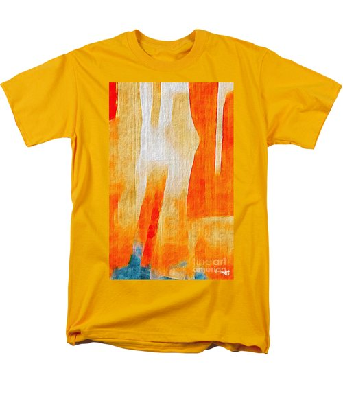 Men's T-Shirt  (Regular Fit) featuring the photograph Canyon by William Wyckoff