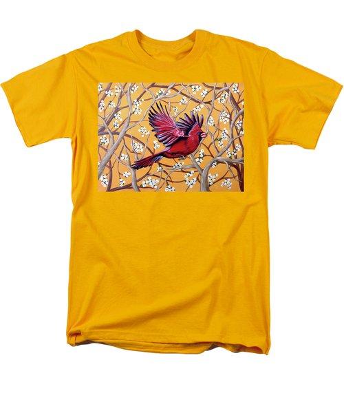 Cardinal In Flight Men's T-Shirt  (Regular Fit)