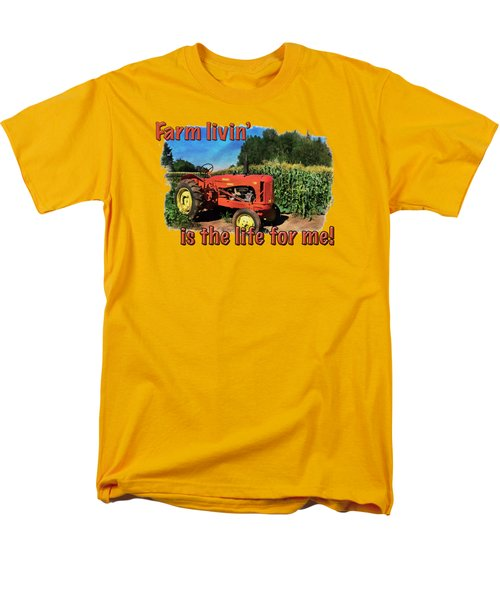 Charlie The Tractor Men's T-Shirt  (Regular Fit) by Richard Farrington