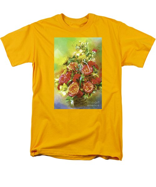 Men's T-Shirt  (Regular Fit) featuring the photograph Cheryls Bouquet by Ken Frischkorn