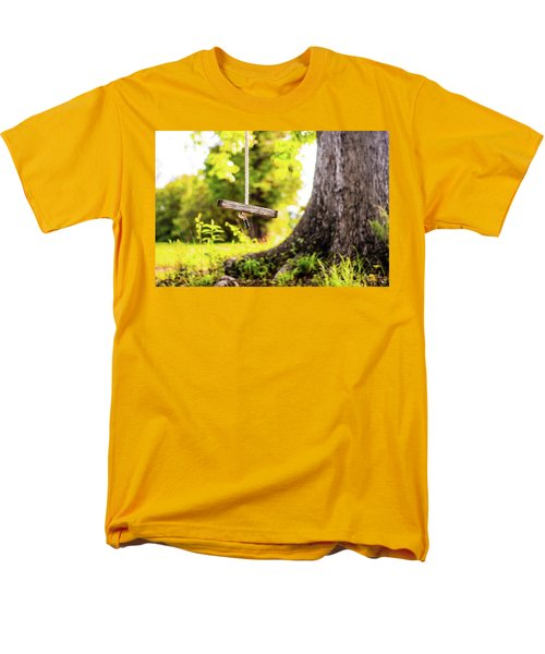 Men's T-Shirt  (Regular Fit) featuring the photograph Childhood Memories by Shelby Young