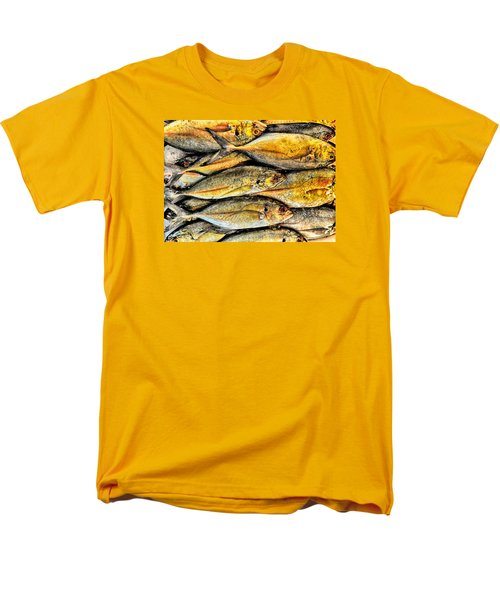 Chinatown Fish Market Nyc Men's T-Shirt  (Regular Fit) by Steve Archbold