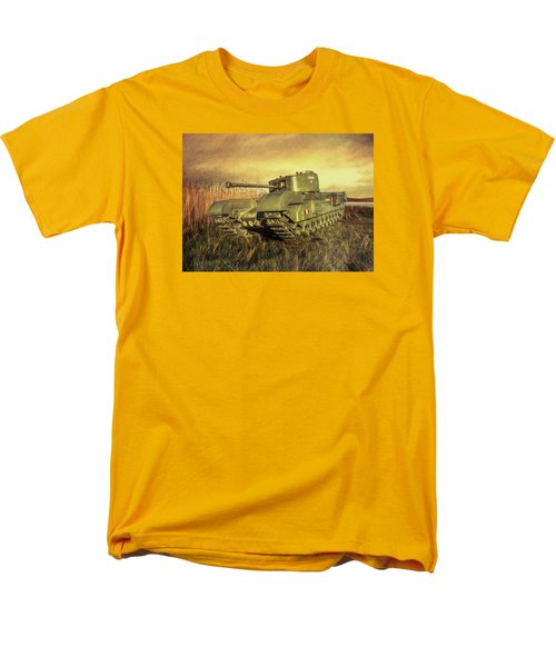 Men's T-Shirt  (Regular Fit) featuring the photograph Churchill Tank by Roy McPeak