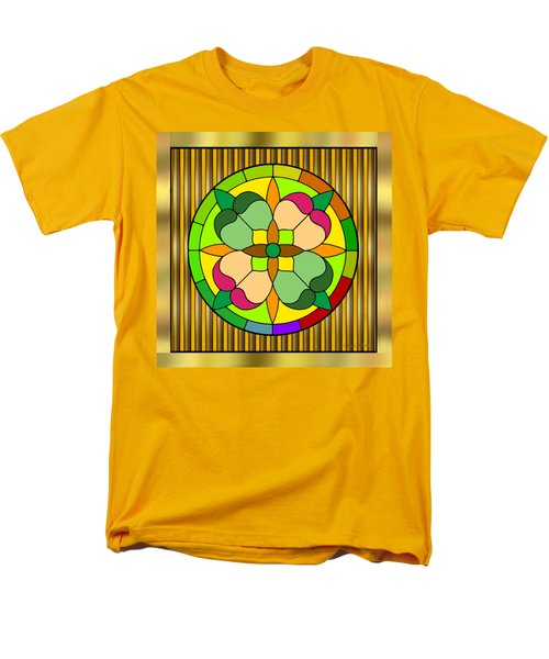 Circle On Bars 2 Men's T-Shirt  (Regular Fit) by Chuck Staley