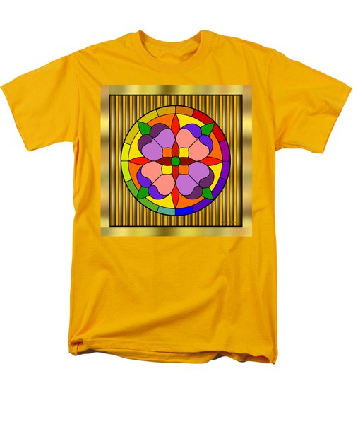 Circle On Bars Men's T-Shirt  (Regular Fit) by Chuck Staley