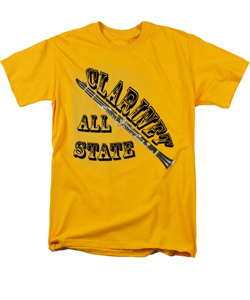 Clarinet All State Men's T-Shirt  (Regular Fit) by M K  Miller