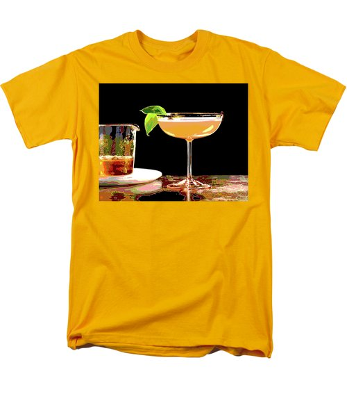 Cocktail And Dreams Men's T-Shirt  (Regular Fit) by Charles Shoup