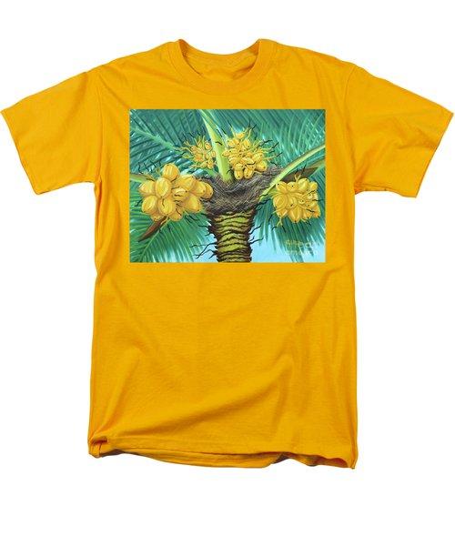 Coconut Palms Men's T-Shirt  (Regular Fit) by Val Miller