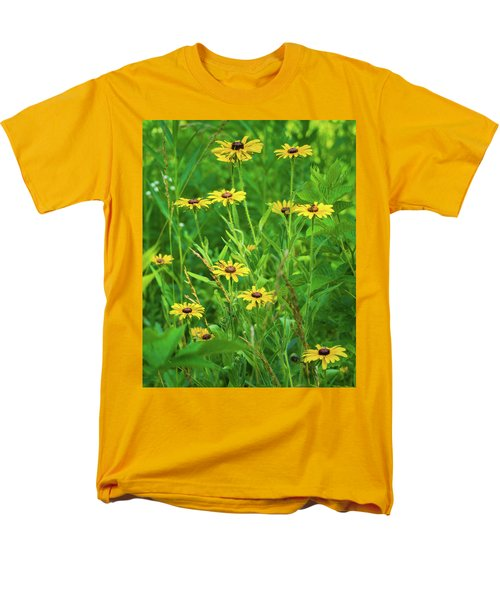 Men's T-Shirt  (Regular Fit) featuring the photograph Collection In The Clearing by Bill Pevlor