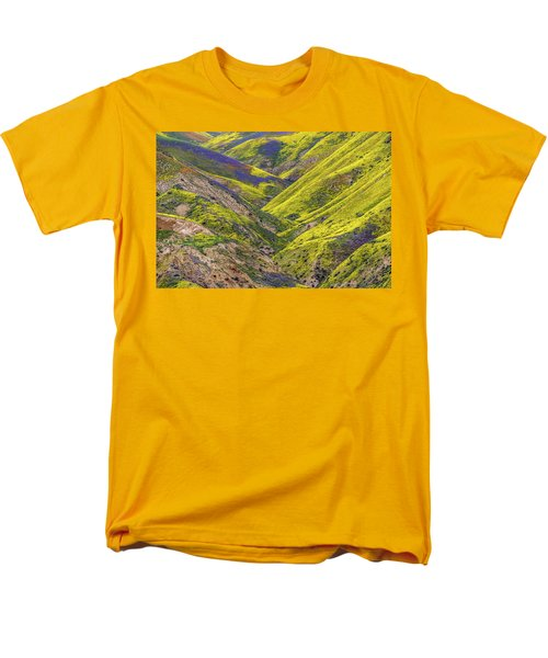Men's T-Shirt  (Regular Fit) featuring the photograph Color Valley by Peter Tellone
