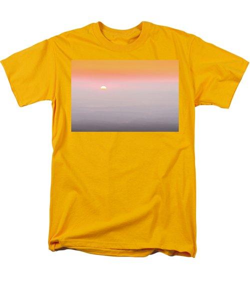Colorful And Smoky Carolina Sunrise Men's T-Shirt  (Regular Fit) by Serge Skiba