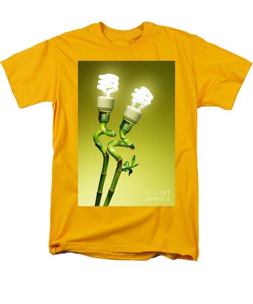 Conceptual Lamps Men's T-Shirt  (Regular Fit) by Carlos Caetano