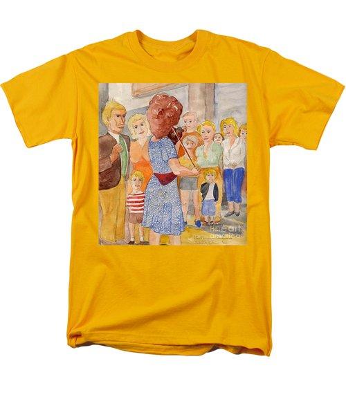 Corner Musician Amsterdam Men's T-Shirt  (Regular Fit) by Fred Jinkins