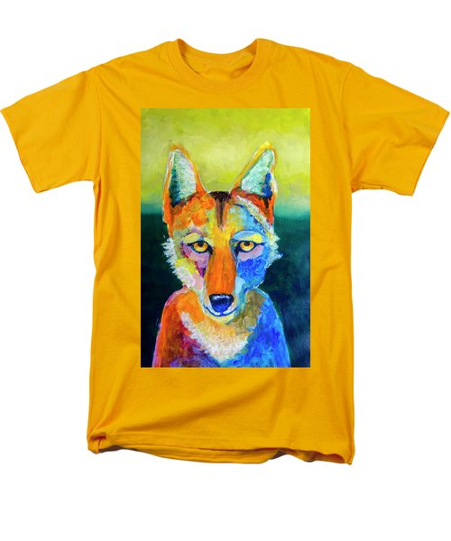 Coyote Men's T-Shirt  (Regular Fit) by Rick Mosher