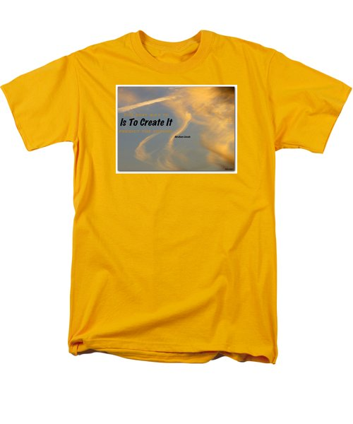 Men's T-Shirt  (Regular Fit) featuring the photograph Create Greatness by David Norman