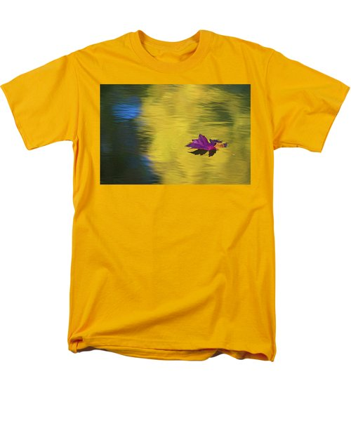 Men's T-Shirt  (Regular Fit) featuring the photograph Crimson And Gold by Steve Stuller