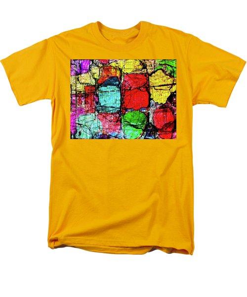 Crumbling Stone Wall Men's T-Shirt  (Regular Fit) by Don Gradner