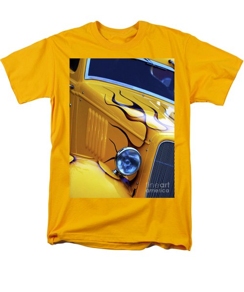 Men's T-Shirt  (Regular Fit) featuring the photograph Custom 1934  Ford Artwork by Baggieoldboy