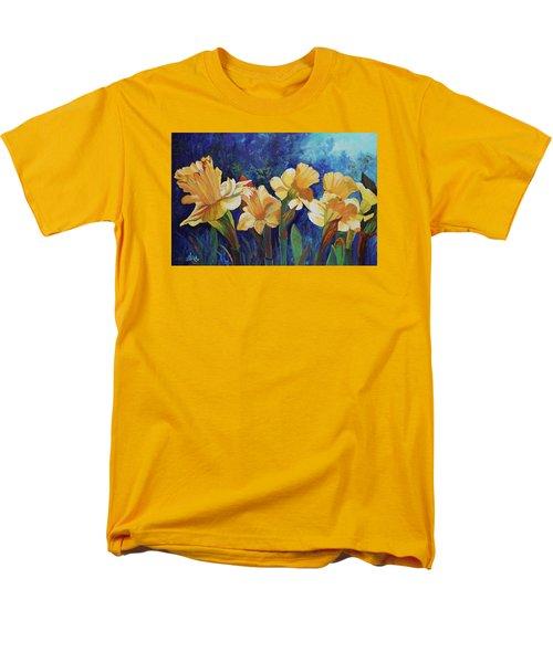 Daffodils Men's T-Shirt  (Regular Fit) by Alika Kumar