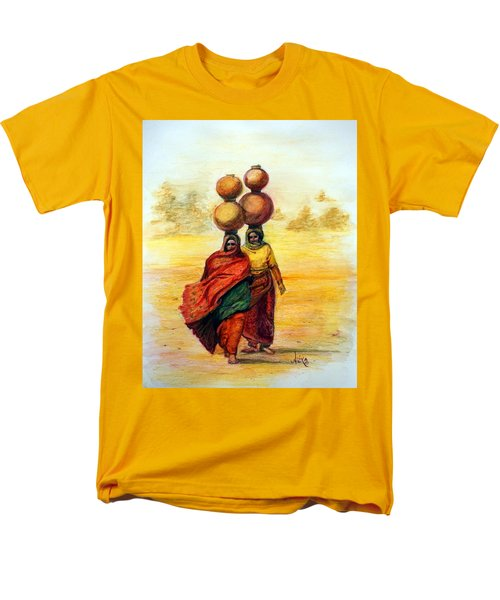 Daily Desert Dance Men's T-Shirt  (Regular Fit) by Alika Kumar