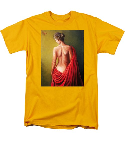 Dama De Rojo Men's T-Shirt  (Regular Fit)