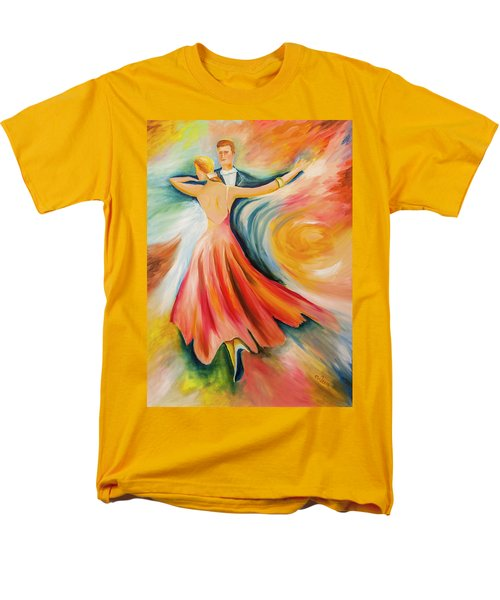 Dance Me To The End Of Time Men's T-Shirt  (Regular Fit) by Itzhak Richter