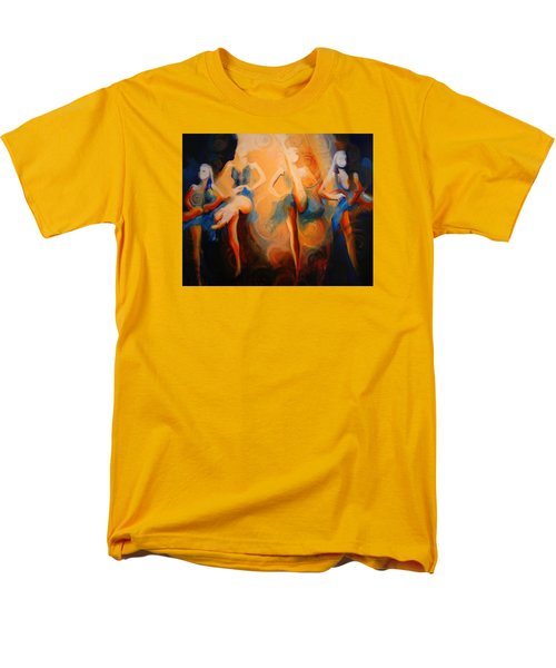 Men's T-Shirt  (Regular Fit) featuring the painting Dance Of The Sidheog by Georg Douglas