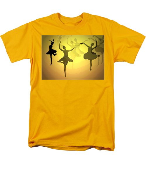 Men's T-Shirt  (Regular Fit) featuring the photograph Dance With Us Into The Light by Joyce Dickens