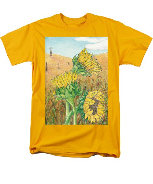 Dancing In The Breeze  Men's T-Shirt  (Regular Fit) by Vicki  Housel