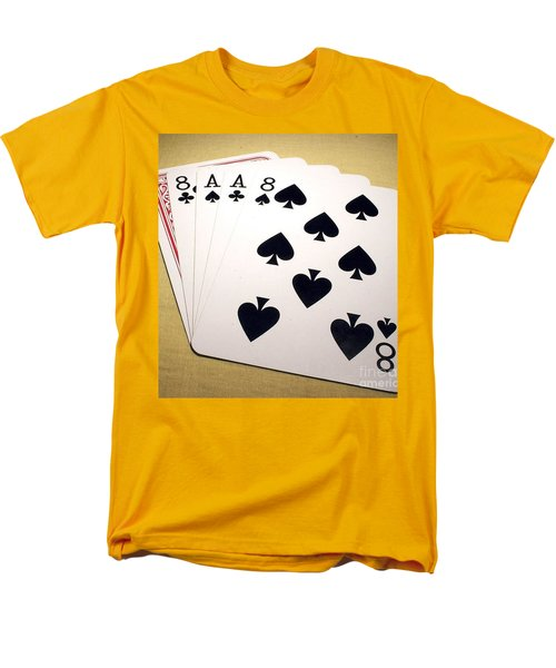 Dead Mans Hand Men's T-Shirt  (Regular Fit) by Pg Reproductions