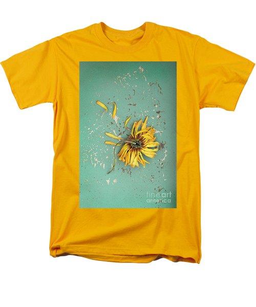 Men's T-Shirt  (Regular Fit) featuring the photograph Dead Suflower by Jill Battaglia
